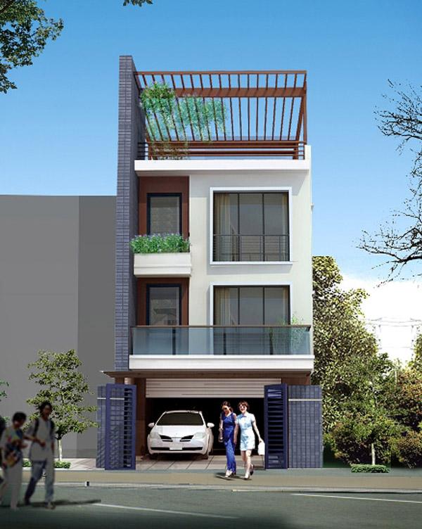 Những mẫu nhà phố đẹp và ấn tượng nhất