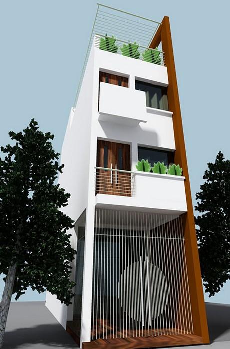 mẫu nhà phố
