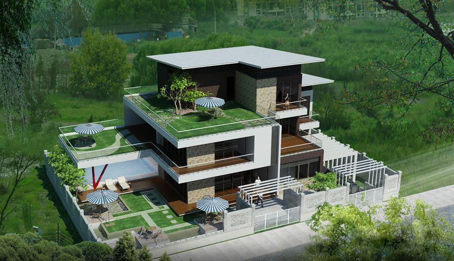 21 Thiết kế biệt thự phố hiện đại thể hiện sự đẳng cấp của gia chủ