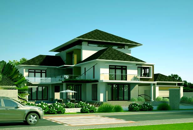 4 Thiết kế biệt thự phố hiện đại thể hiện sự đẳng cấp của gia chủ