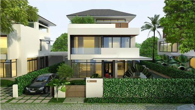 58 Thiết kế biệt thự phố hiện đại thể hiện sự đẳng cấp của gia chủ
