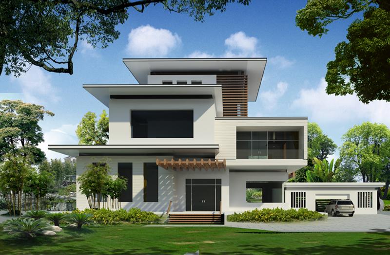 92 Thiết kế biệt thự phố hiện đại thể hiện sự đẳng cấp của gia chủ