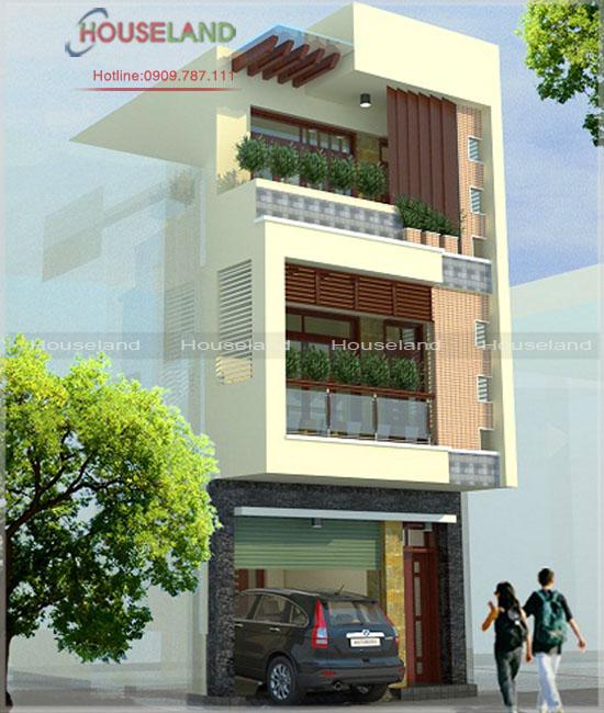 Mẫu thiết kế nhà phố 5x16m 3 tầng đẹp