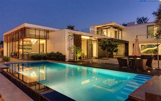 4 mẫu biệt thự hồ bơi hiện đại đẹp sang trọng