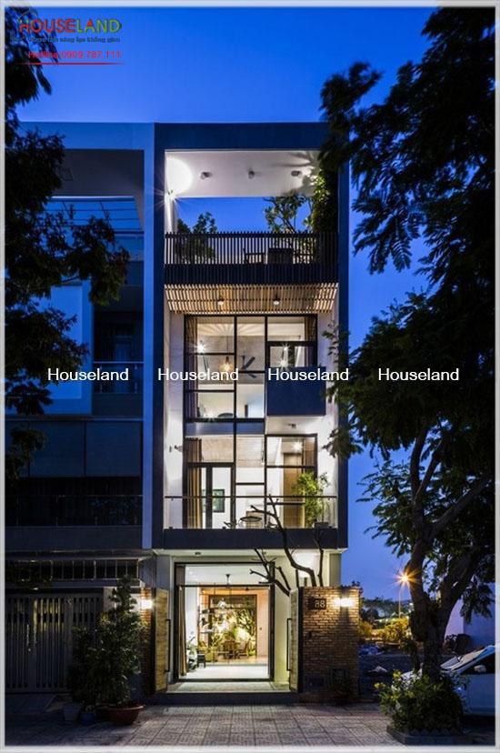Mẫu thiết kế nhà phố sang trọng tại Tp.Hồ Chí Minh-NPHD1001