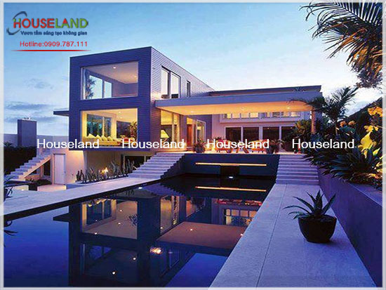 Bộ thiết kế 8 mẫu biệt thự hiện đại tuyệt đẹp