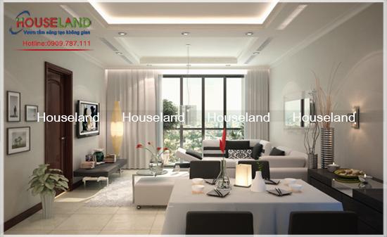 Thiết kế chung cư cho nhà có diện tích hẹp