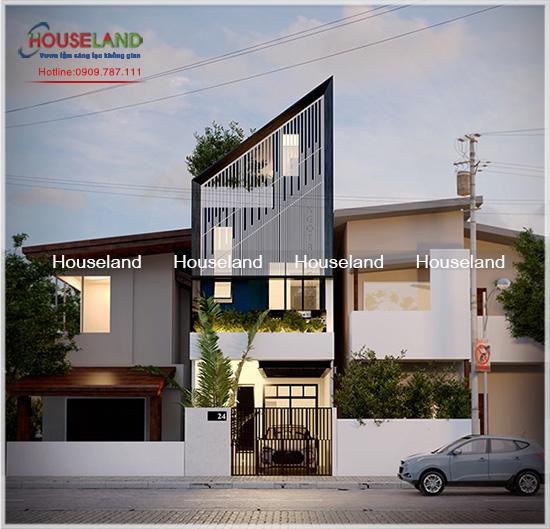 Xây dựng nhà có diện tích 4x16m