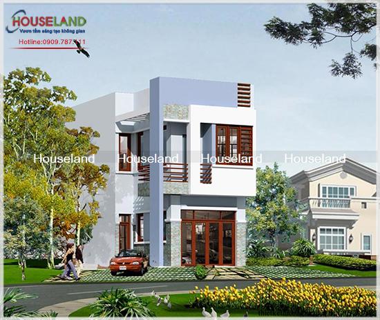 Thiết kế nhà 2 tầng đẹp hiện đại trên toàn quốc