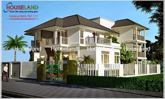 Houseland tư vấn thiết kế biệt thự Châu Âu
