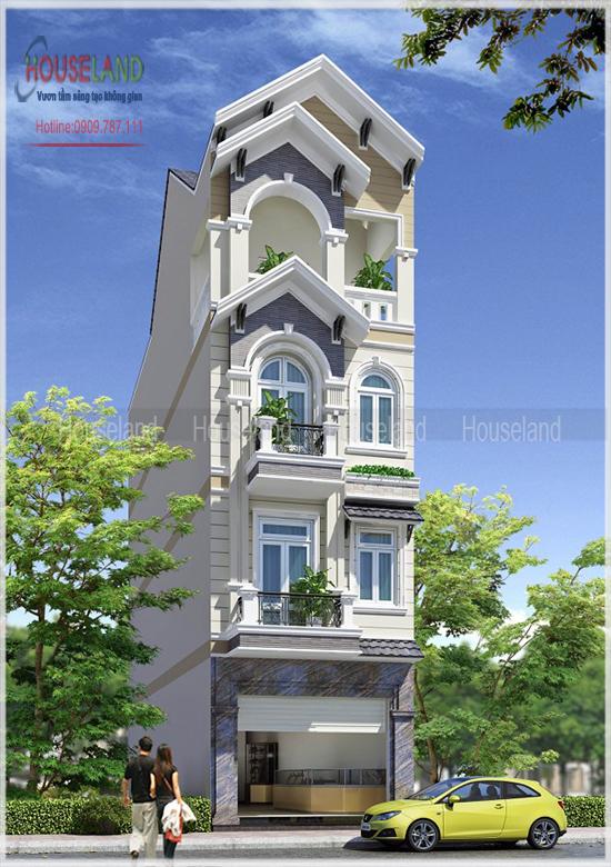 Công ty thiết kế nhà phố uy tín