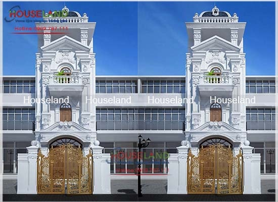 15 mẫu nhà phố cổ điển đẹp