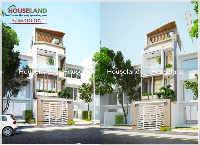 Thiết kế nhà phố 5x18m 4 tầng đẹp