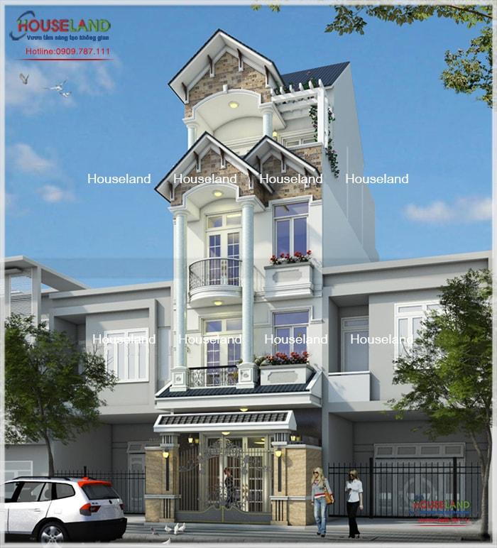 Thiết kế nhà phố 6x15m, thiết kế nhà phố hiện đại, nhà phố hiện đại đẹp