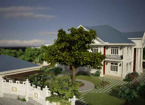 Chiêm ngưỡng những biệt thự vườn đẹp ở Việt Nam