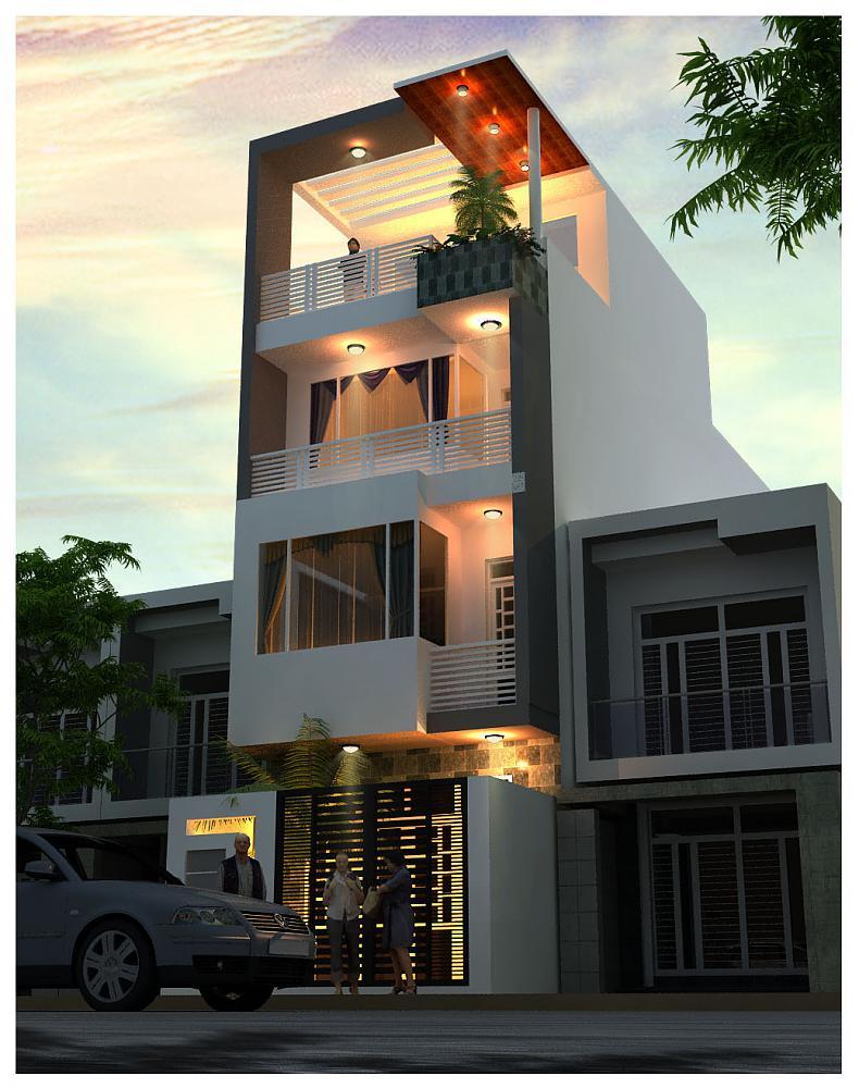 Tổng hợp mẫu thiết kế nhà phố đẹp