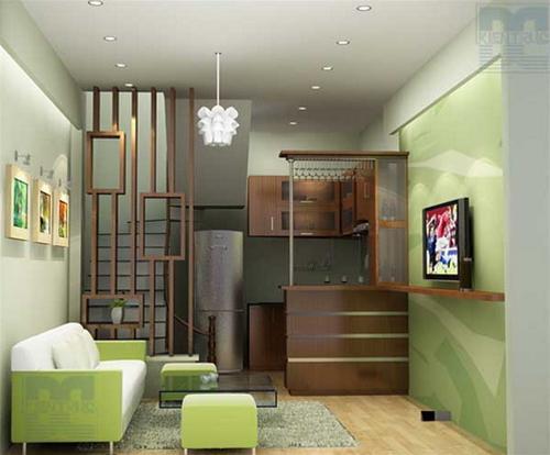 Thiết kế nội thất cho những nhà phố nhỏ