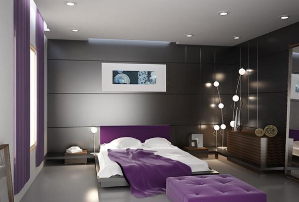 Những mẫu nội thất đẹp cho phòng ngủ sang trọng
