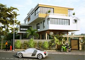 Biệt thự phố 3 tầng Villa Hải Phòng