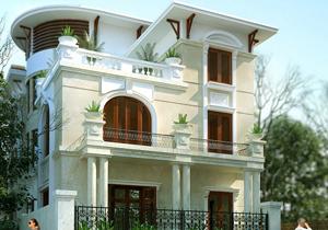 Biệt thự phố cổ điển quận 3 Sài Gòn