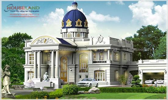 Mẫu biệt thự phong cách Thái Lan
