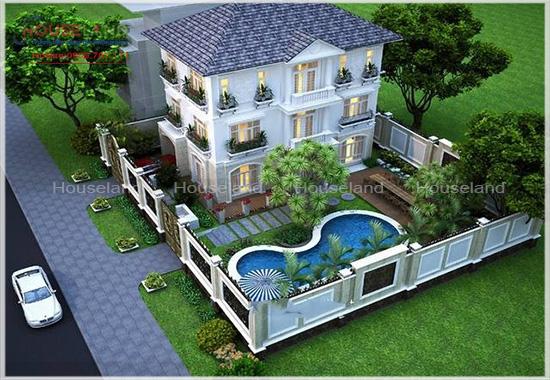 Tư vấn thiết kế biệt thự vườn