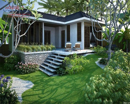 Tư vấn thiết kế nhà vườn biệt thự