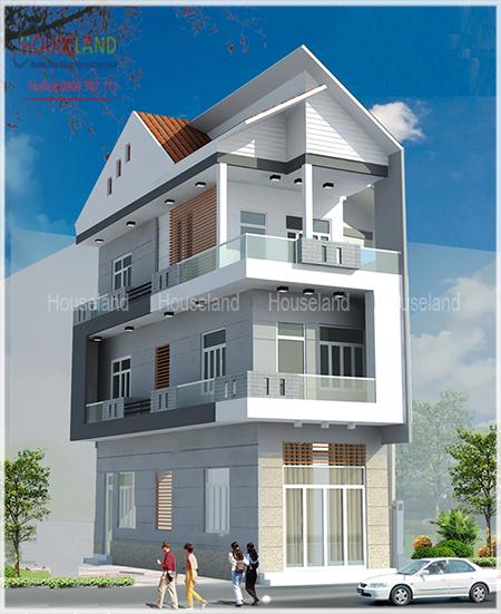 Thiết kế mặt tiền nhà phố hợp phong thủy