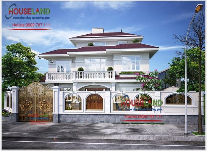 5 mẫu thiết kế biệt thự nhà vườn đẹp mắt
