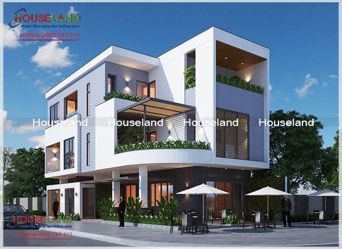 Tổng hợp 5 mẫu thiết kế biệt thự hiện đại đẹp hiện nay