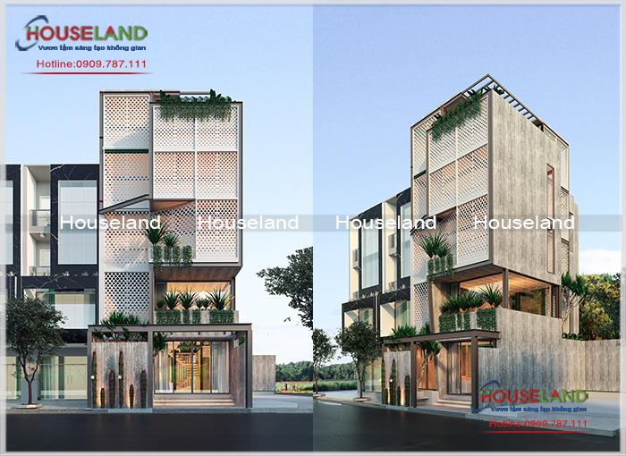 Công ty thiết kế Nhà phố đẹp chuyên nghiệp uy tín- Houseland