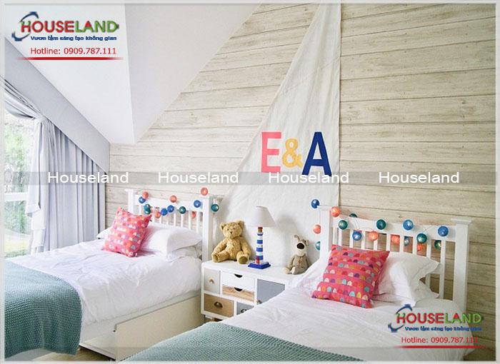 Thiết kế phòng ngủ đôi cho những ngôi nhà nhỏ
