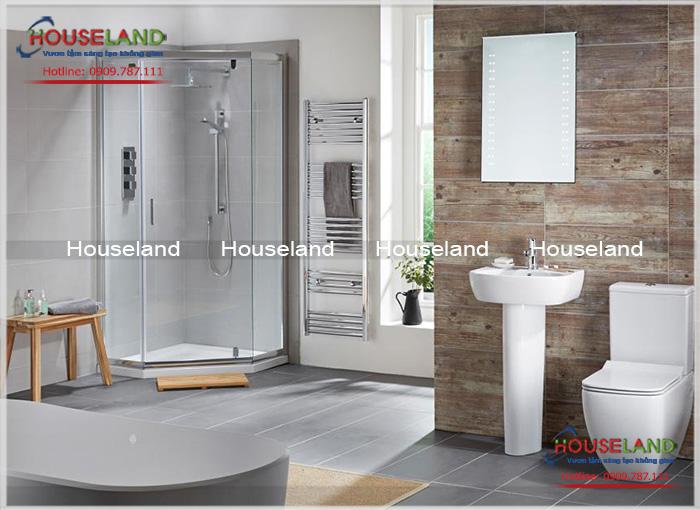 Có nên ngăn cách phòng tắm và phòng vệ sinh khi thiết kế xây dựng nhà tắm?