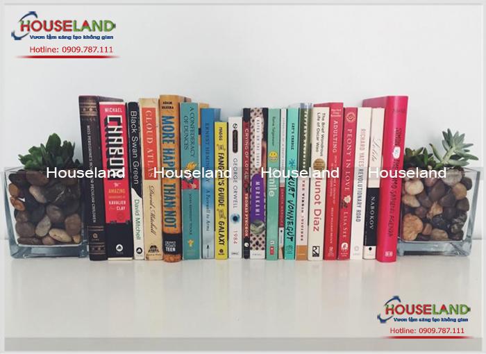 Các mẫu kệ sách đẹp sáng tạo dành cho người thích đọc sách